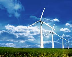 Wind farm green energy
